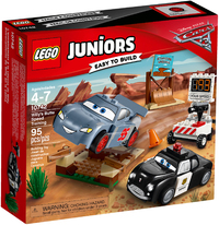 LEGO® Juniors - Willy's Butte Speed Training - Cover