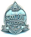 Alice Cooper School's Out Pin Badge