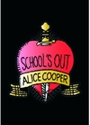 Alice Cooper Schools Out Post Card