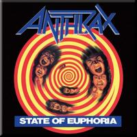 Anthrax State of Euphoria Magnet