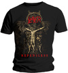 Slayer Cruciform Skeletal Mens Black T-Shirt (Small)