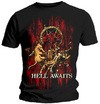 Slayer Hell Awaits Mens Black T-Shirt (Small)