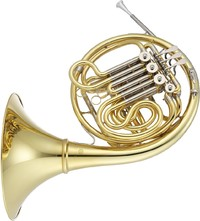Jupiter JHR1100D Bb Double French Horn (Including Case) - Cover