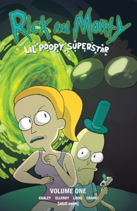 Rick and Morty - Sarah Graley (Paperback) - Cover