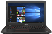 ASUS FX553VD i7-7700HQ 8GB RAM 1TB HDD nVidia GeForce GTX 1050 15.6 Inch LED FHD Gaming Notebook - Cover