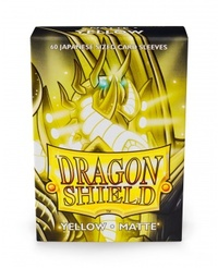 Dragon Shield - Japanese Size Sleeves - Matte Yellow (60 Sleeves) - Cover