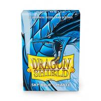 Dragon Shield - Japanese Size Sleeves - Matte Sky Blue (60 Sleeves)