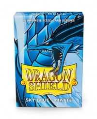 Dragon Shield - Japanese Size Sleeves - Matte Sky Blue (60 Sleeves) - Cover