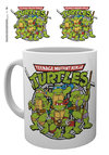 Teenage Mutant Ninja Turtles - Retro Logo Mug Cover
