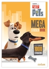 Secret Life of Pets: 1000 Sticker Book (Paperback) Cover