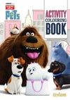 Secret Life of Pets Activity Colouring Book (Paperback) Cover