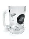 Game of Thrones (House Stark) Glass Stein