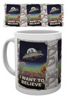 Rick And Morty - I Want To Believe Mug Cover