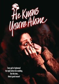 He Knows You're Alone (Region 1 DVD) - Cover