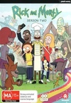 Rick and Morty - Season 2 (DVD) Cover