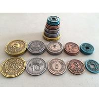 Scythe - Metal Coins Expansion (Board Game)