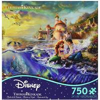 Ceaco Thomas Kinkade The Disney Dreams Collection The Little Mermaid 750 pc. Jigsaw Puzzle (Toy)