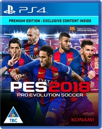 Pro Evolution Soccer 2018 (PS4) - Cover
