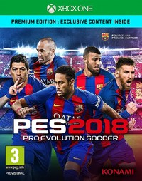 Pro Evolution Soccer 2018 (Xbox One) - Cover