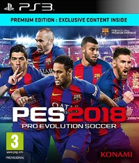 Pro Evolution Soccer 2018 (PS3) - Cover