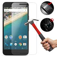 Google Nexus 5X Protector, Ultra Thin 0.26mm Scratch Resistant Tempered Glass Screen Protector for Google Nexus 5X (Electronics)