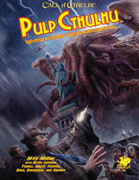 Call of Cthulhu RPG - Pulp Cthulhu (Role Playing Game) - Cover