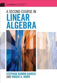 online linear algebra course Note: courses are subject to changeplease confirm course availability with your academic advisor and/or department non-degree registration dates may be viewed here.