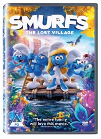 Smurfs: The Lost Village (DVD) - Cover