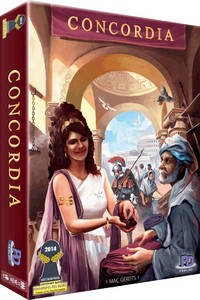 Concordia (Board Game) - Cover