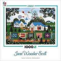 Ceaco - Jane Wooster Scott - Patchwork Sampler Puzzle (1000 Pieces) - Cover