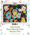 Ceaco - Let's Chalk Grow Your Own Puzzle (550 Pieces)