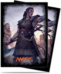 Ultra Pro - Magic: The Gathering Commander Saskia the Unyielding Protector Sleeves (120) - Cover
