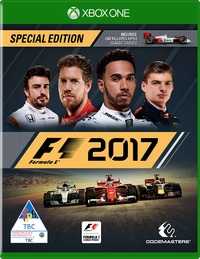 F1 2017 (Xbox One) - Cover