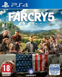 Far Cry 5 (PS4) - Cover