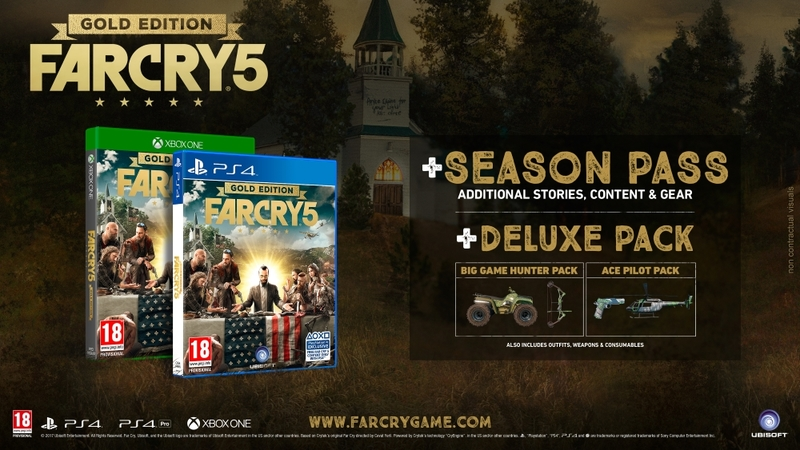 far cry 5 ps4 controls
