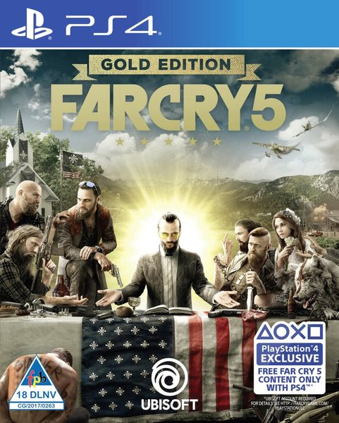 Far Cry 5 (PS4) - Video Games Online | Raru