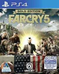 Far Cry 5 (includes Code for Far Cry 3 Classic Edition) (PS4) - Cover
