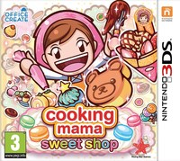 Cooking Mama: Sweet Shop (3DS) - Cover