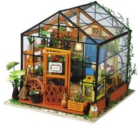 Robotime - DIY House - Cathy's Flower House 3D Puzzle - Cover