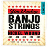 Dunlop Nickel Wound Light Banjo Strings (5 String)