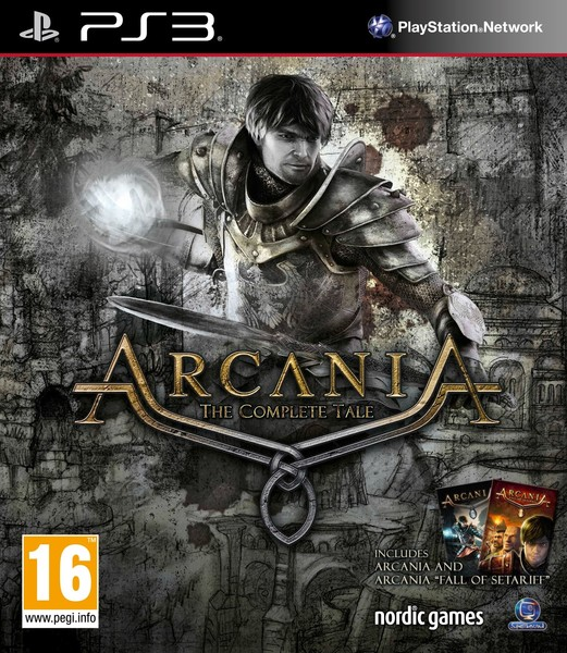 Kết quả hình ảnh cho ArcaniA - The Complete Tale cover ps3