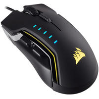 Corsair - Glaive RGB Optical Gaming Mouse - Black