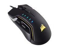 Corsair - Glaive RGB Optical Gaming Mouse - Black - Cover