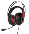 ASUS - Cerberus V2 Binaural Head-band Headset - Black/Red (PC/Mac/PlayStation/ Mobile Devices)