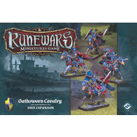 Runewars Miniatures Game - Oathsworn Cavalry Unit Expansion (Miniatures)