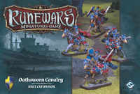 Runewars Miniatures Game - Oathsworn Cavalry Unit Expansion (Miniatures) - Cover
