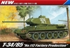 Academy - 1/35 - T-34/85 No. 112 Factory Production (Plastic Model Kit)