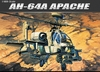 Academy - 1/48 - AH-64A Apache Helicoptor (Plastic Model Kit)