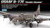 "Academy - 1/72 - B-17E USAAF ""Pacific Theatre"" (Plastic Model Kit)"