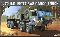 Academy - 1/72 - M997 8x8 Cargo Truck (Plastic Model Kit) - Cover